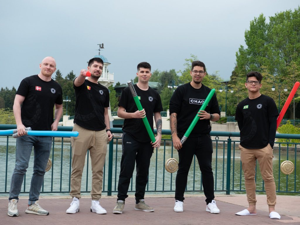 Day two of MDL Disneyland® Paris Major sees Chaos Esports Club and Fnatic heading home. Photo courtesy of Chaos Esports Club.