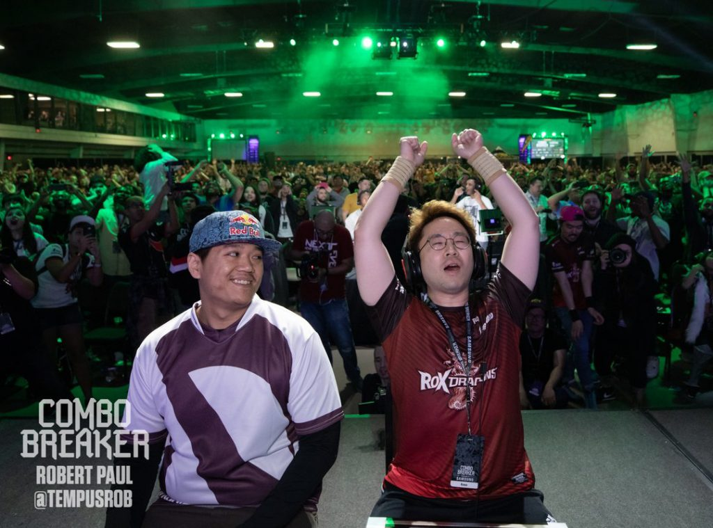 The Tekken 7 Grand Finals between Knee and Anakin might have been the highlight of Combo Breaker 2019. (Photo courtesy of Robert Paul)