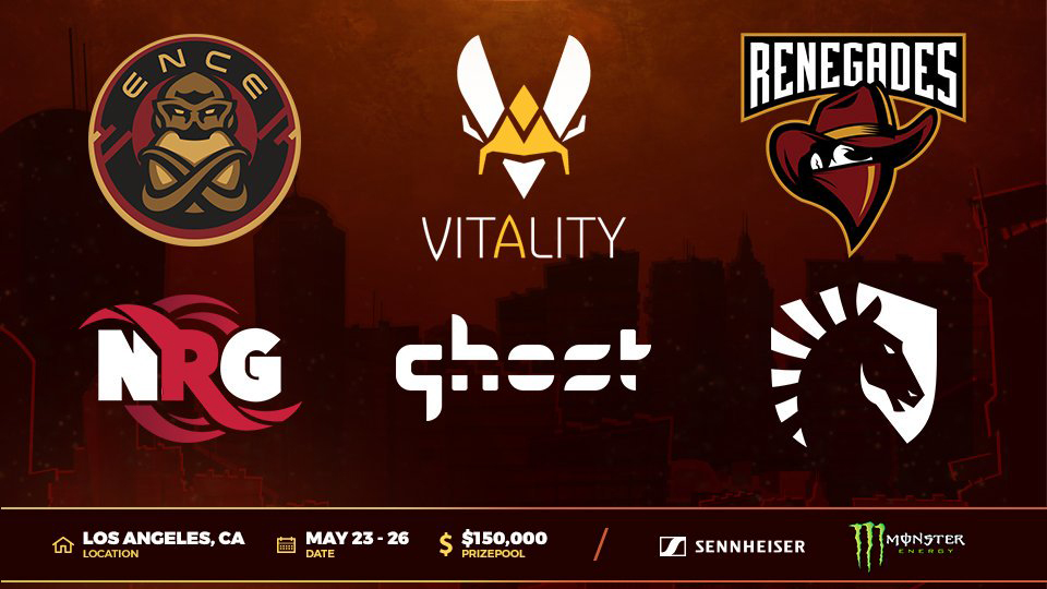 cs_summit4 will see six teams vying for their share of the $150,000 USD prize pool.