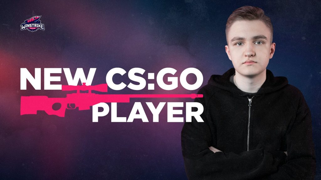 "Russian CS:GO player Aleksey ""El1an"" Gusev joins Winstrike Team. (Image courtesy of Winstrike Team)"