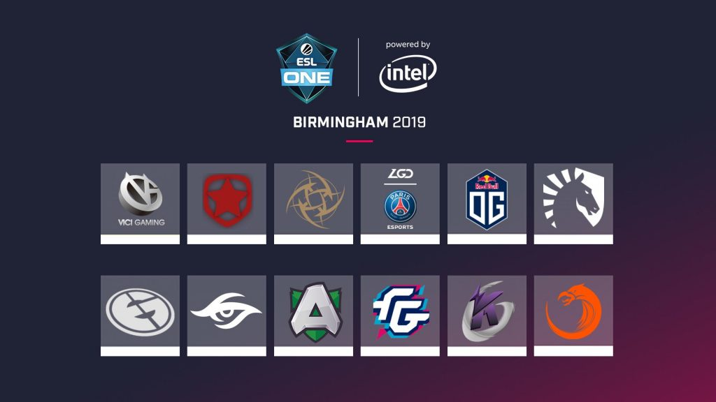 ESL One Birmingham 2019 will run from May 28-June 2. (Image courtesy of ESL)