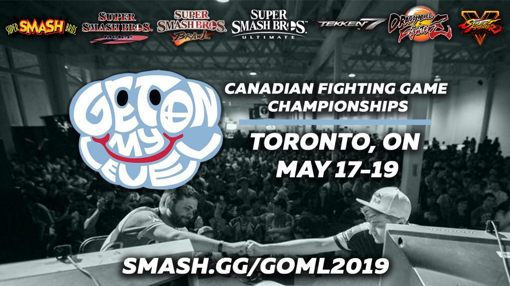 GOML 2019 will feature Super Smash Bros. alongside popular FGC titles. (Image courtesy of GOML)