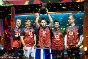 Mousesports lifted the DreamHack Tours 2019 trophy. (Photo Courtesy of DreamHack)