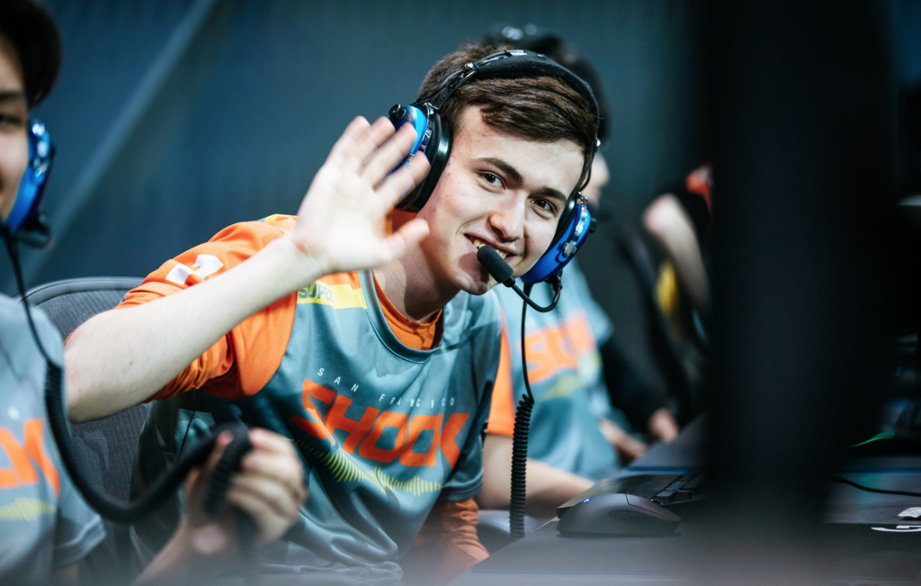 The Shock enter the Stage 2 playoffs coming off the first stage in Overwatch League history (photo courtesy of Overwatch League)