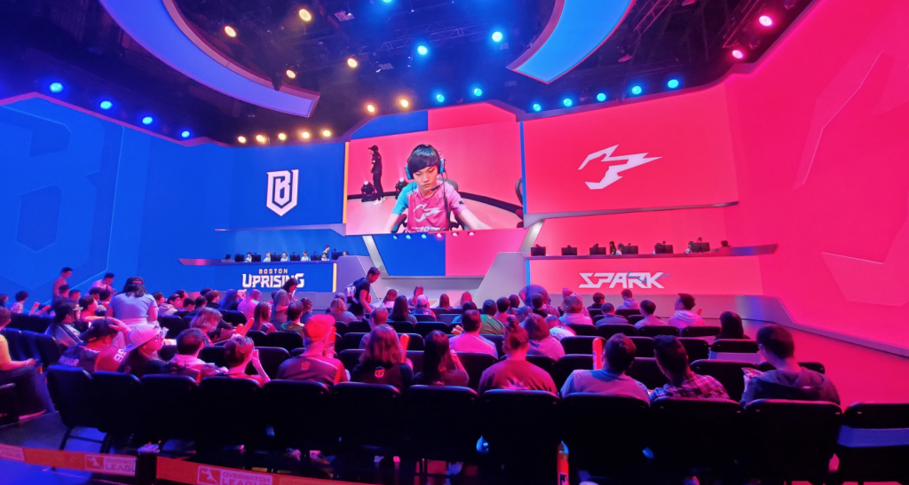 If the stage playoffs were to start today, the Hangzhou Spark would be the first team in OWL history to have a negative map differential in the postseason (Photo courtesy of Hangzhou Spark)