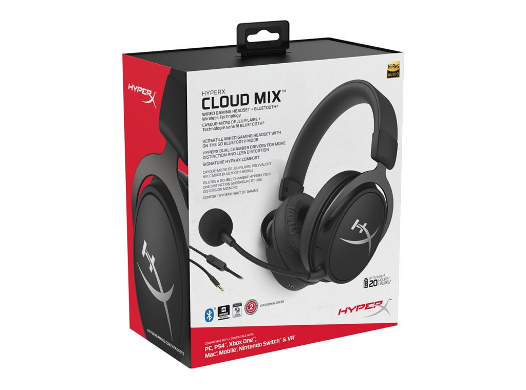 Does the HyperX Cloud Mix successfully master both the needs of a hardcore gamer with the needs of an everyday headset user?