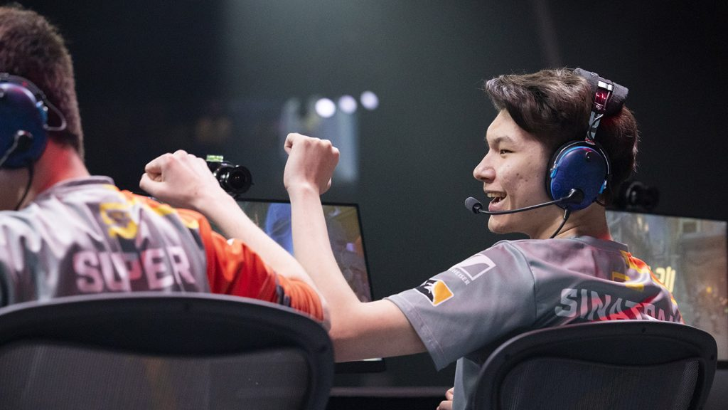The San Francisco Shock head into the 2019 Stage 2 Playoffs without having dropped a map all Stage. / Photo: Robert Paul for Blizzard Entertainment