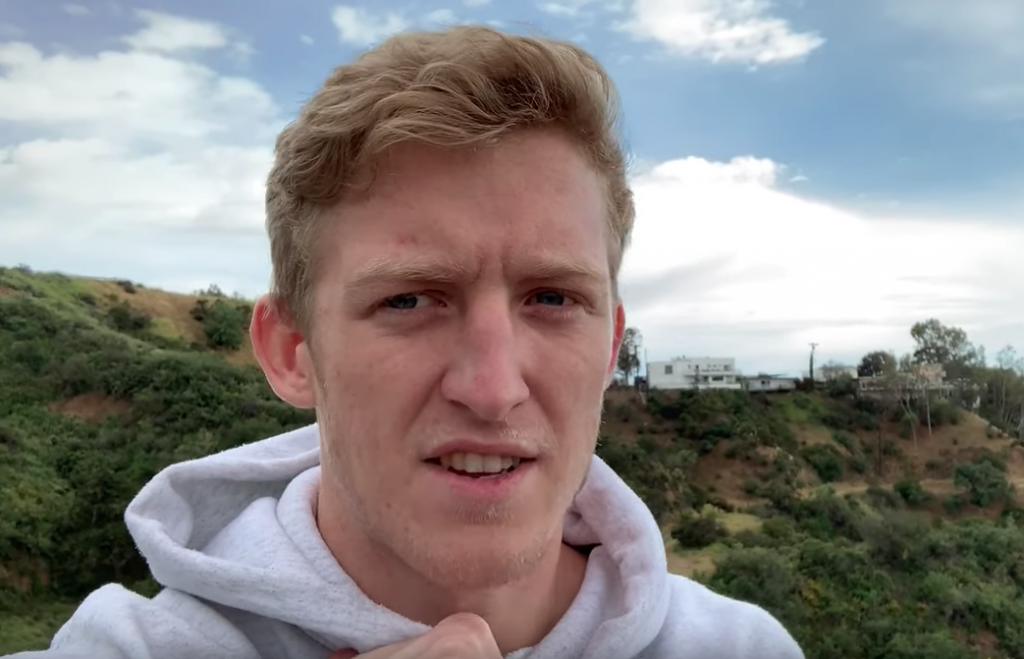 """This contract that I signed when I didn't know any better [sic]I'm an idiot. I should've never signed it in the first place"" Tfue said in his video response to the situation."