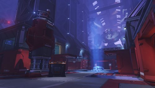 A view of Control B on Volskaya. (Image courtesy of Blizzard)