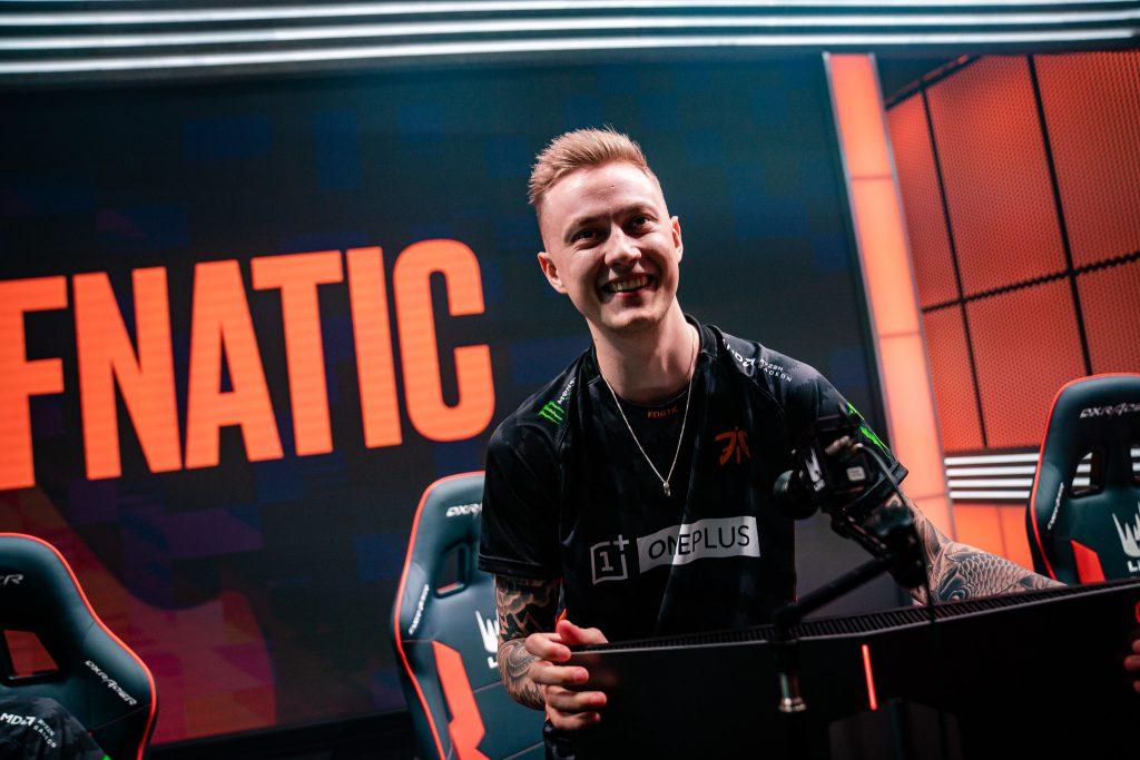 Fnatic should help the LEC edge out the LCS at NA/EU Rift Rivals 2019. (Image via Riot Games)