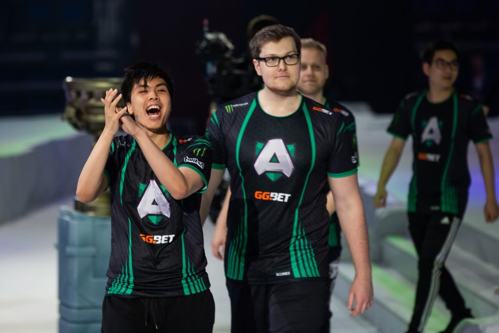 Alliance have secured their invitation to The International 2019. (Image via EPICENTER)