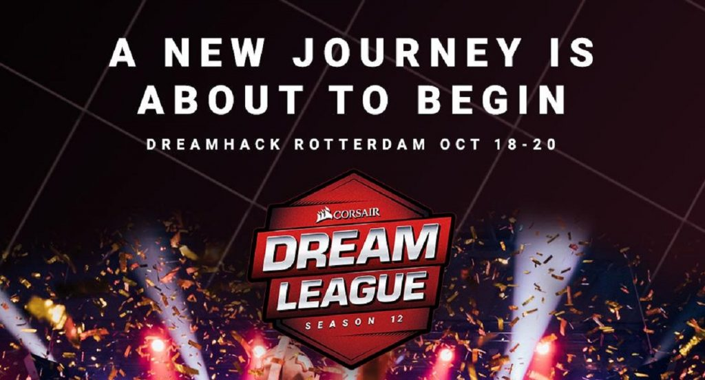 DreamLeague Season 12 will take place in Rotterdam, the Netherlands in October 2019. (Image via DreamHack)