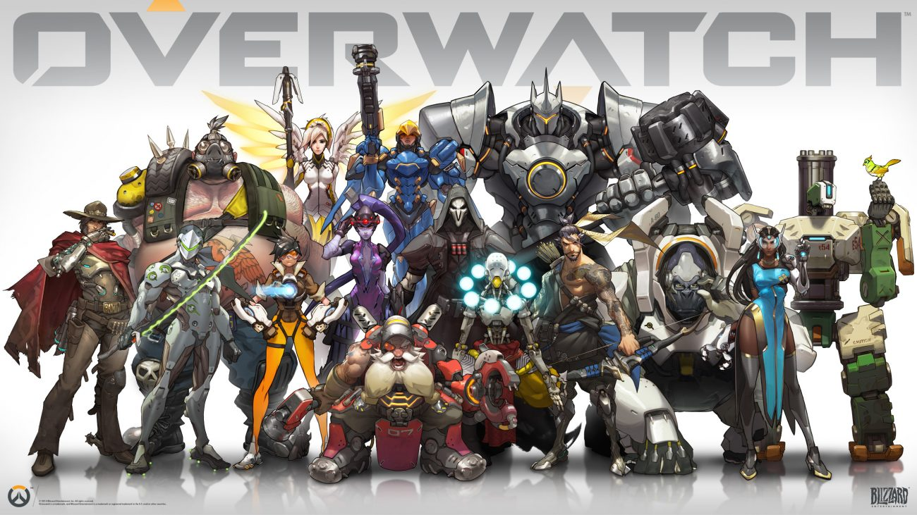 Overwatch characters and heroes