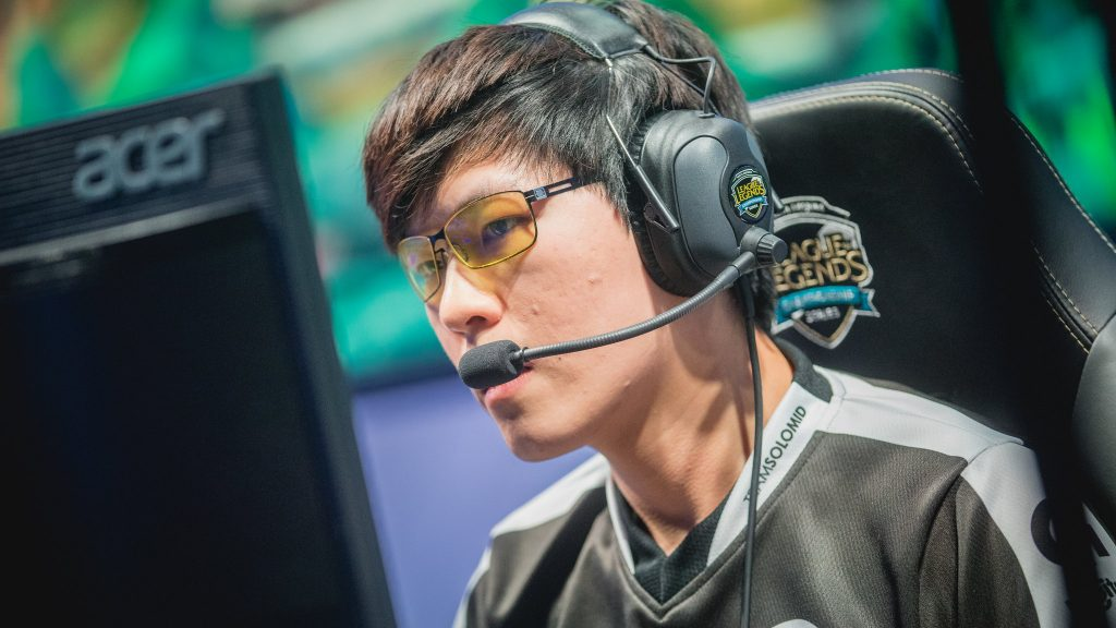 "Former rookie of the split Mike ""MikeYeung"" Yeung has had a turbulent LCS career. Image via Riot Games."