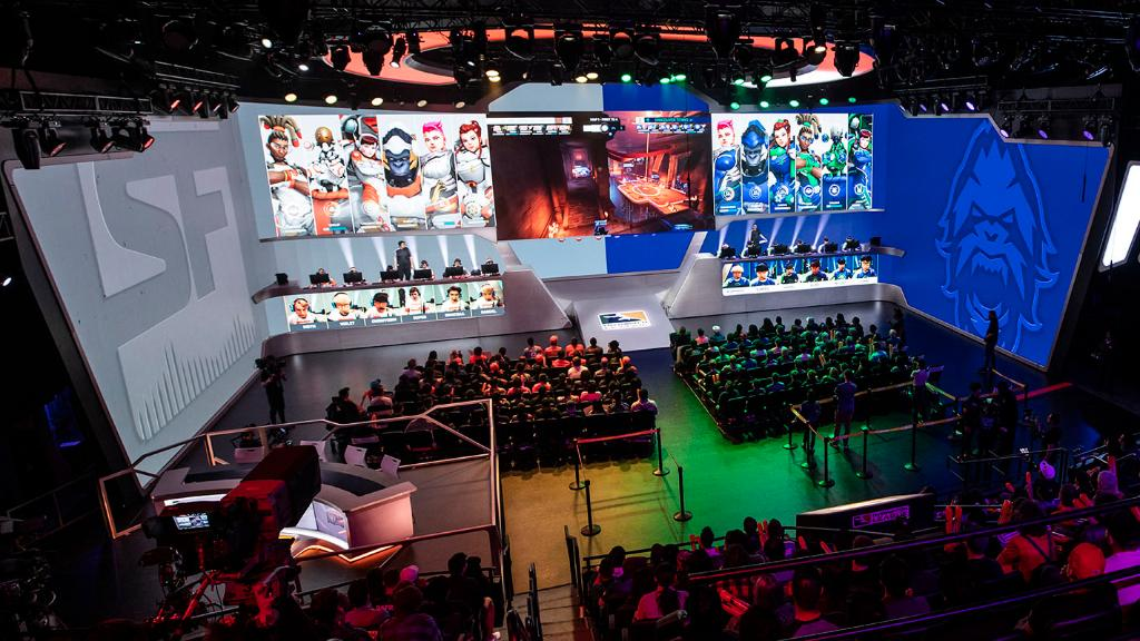 Shock Titans Ovewatch league stage