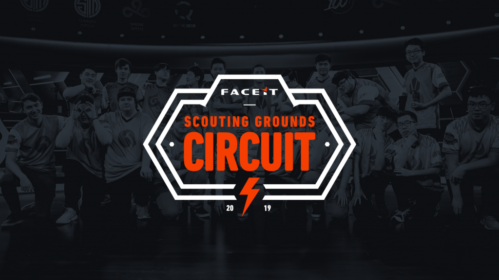 The semi-professional League of Legends scene in North America is expanding with the newly announced FACEIT Scouting Grounds Circuit, set to begin in July. Image via FACEIT.