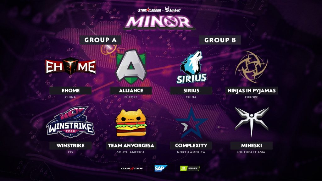 The StarLadder Ukraine Minor will feature eight teams competing from June 12-16. (Image via StarLadder)