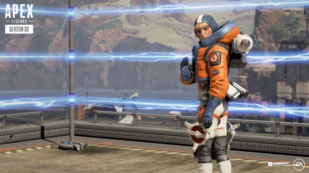 Apex Legends Season Two is coming on July 2, with new Legend, Wattson. (Image via Respawn)