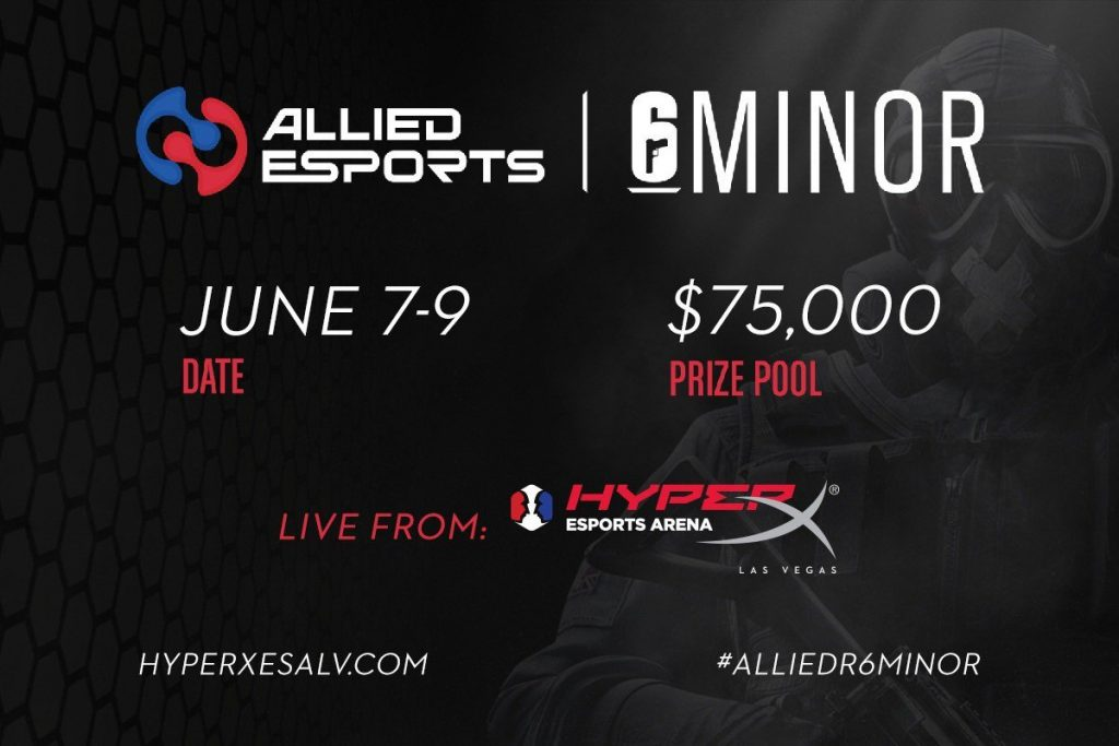 Which of the sixteen teams attending will take home the invitation to the Six Major Raleigh? (Image courtesy of @HyperXESALV / Twitter)