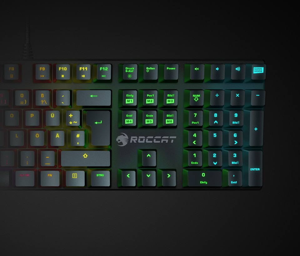 Roccat Suora FX Mechanical Keyboard. (Image via Roccat)