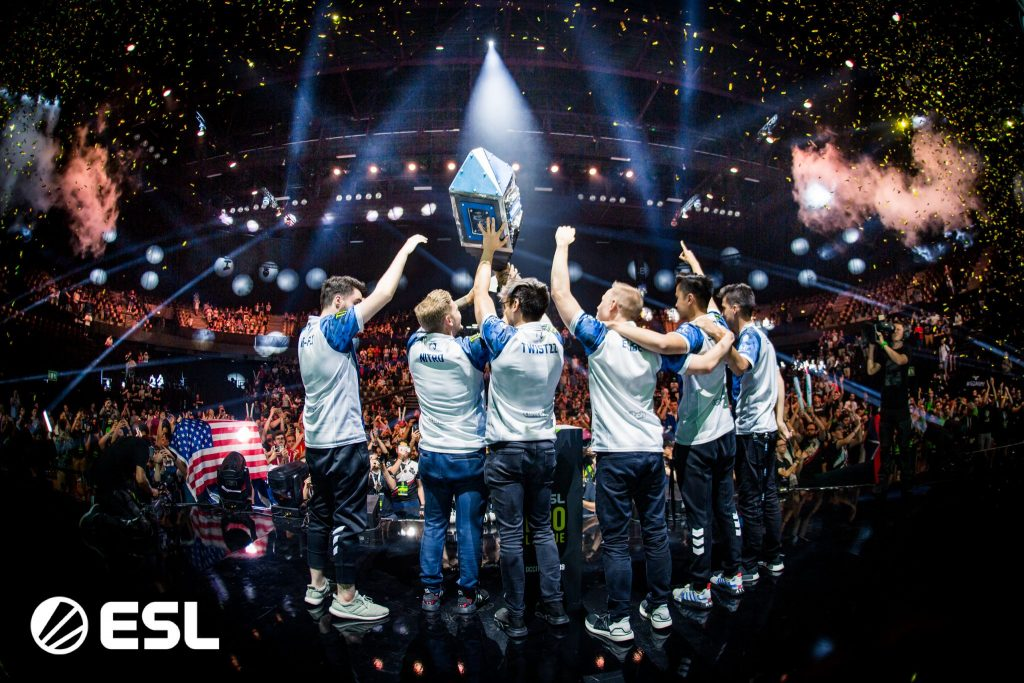 Team Liquid's CS:GO roster are the current Kings of the North. (Image via ESL)