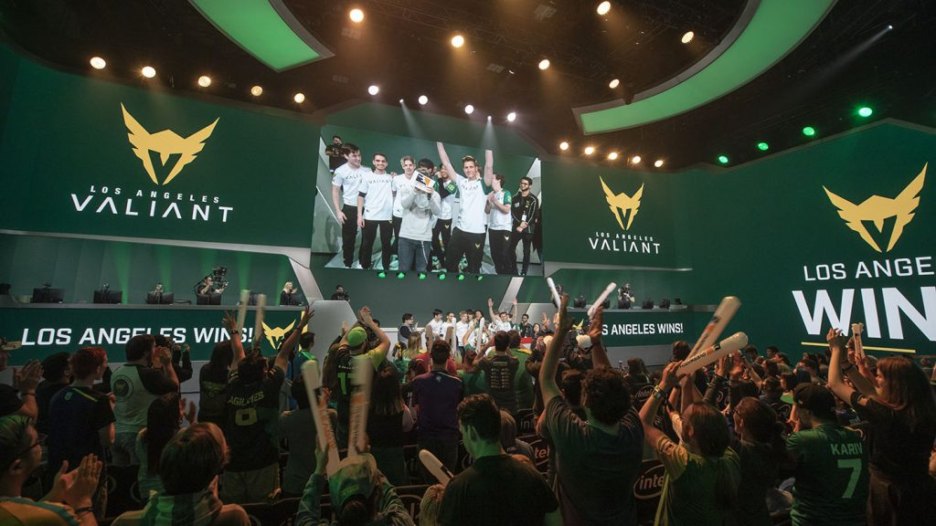 A shift to a more DPS-centric comp has given rise to the LA Valiant (Photo courtesy of Blizzard Entertainment)