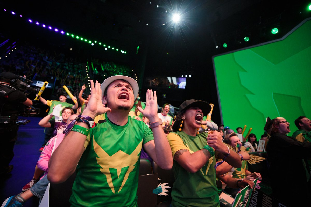 Valiant fans didn't have much to cheer about after an 0-7 start to the season (Photo courtesy of LA Valiant)