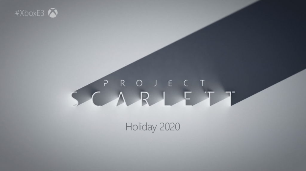 Microsoft became the first to announce their next-generation console: Project Scarlett.
