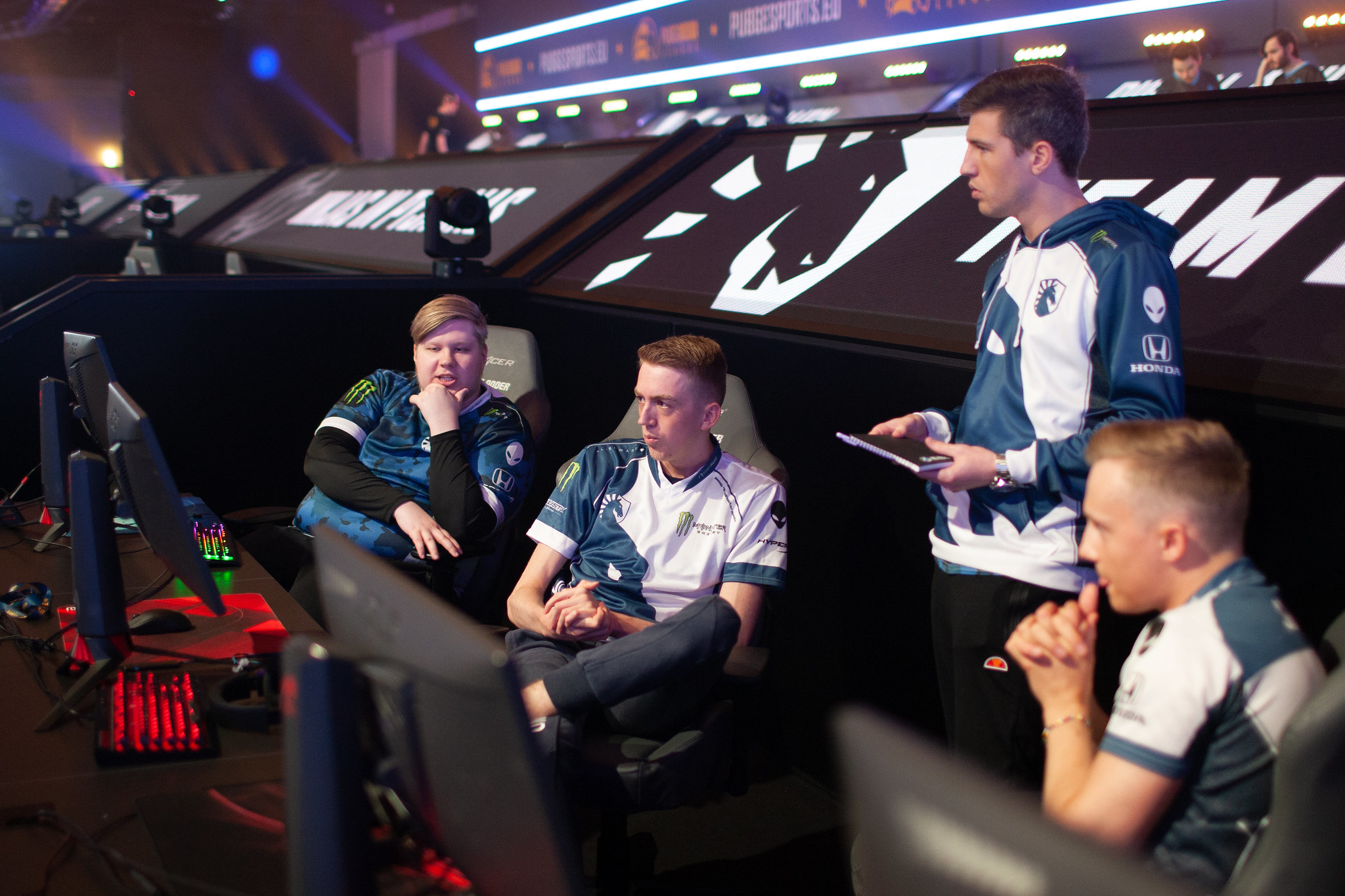 Team Liquid has proven to be one of the four elite teams in the PUBG Europe League (Photo courtesy of PEL Esports)