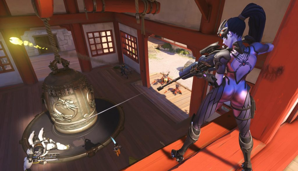 The new Overwatch League role lock means flex players will only be able to flex between maps. (Image via Blizzard)