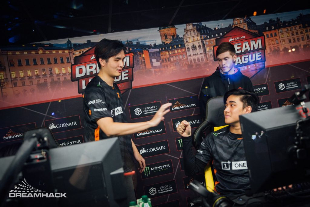 Fnatic needs to come together quickly for The International 2019. (Image via DreamHack, Photography by Adela Sznajder for DreamLeague)