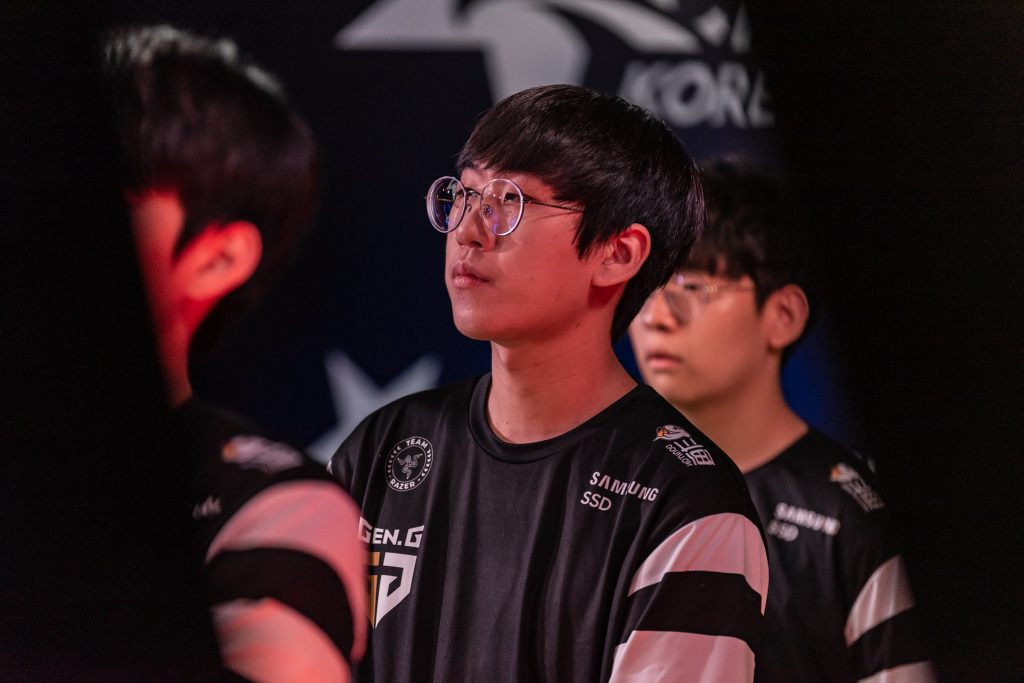 Gen.G have defeated two of the LCK title favorites in their post-Rift Rivals winning streak. Image via Riot Korea.