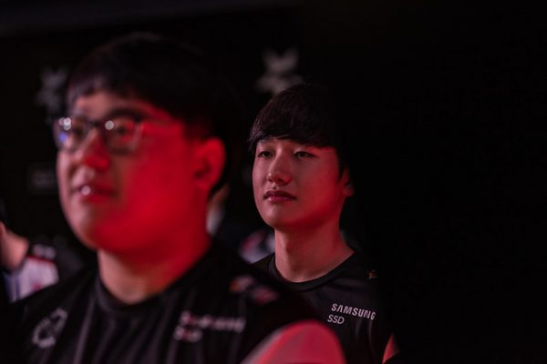 Han ?Peanut? Wang-ho has surged into a purple patch of form since the Rift Rivals break. Image via Riot Korea.