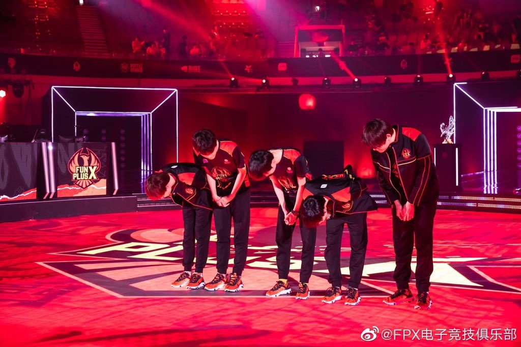 This week, FunPlus Phoenix lost their first series in the LPL Summer 2019 season. (Image via FunPus PhoeniX)