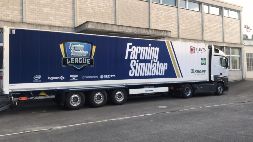 FarmCon 19 will host the first €12.000 Farming Simulator League tournament. (Image via GIANTS Software)