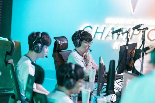 Damwong Gaming, alongside league leaders Griffin, are Korea?s best hopes heading into Rift Rivals. Image via Riot Korea.