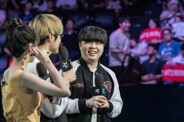It?s been all smiles for SKT in the past few weeks. Image via Riot Korea.