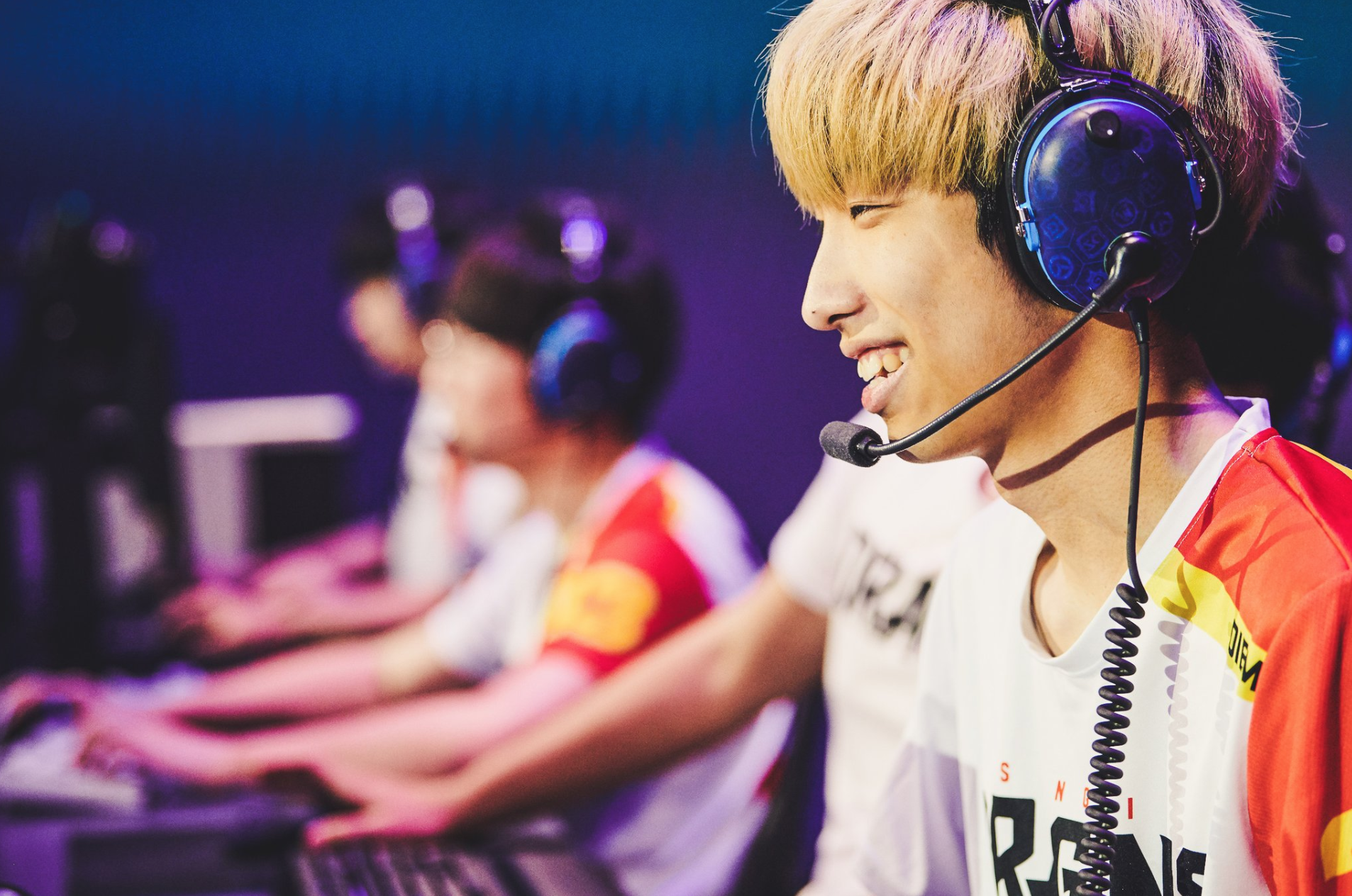 Shanghai Dragons players