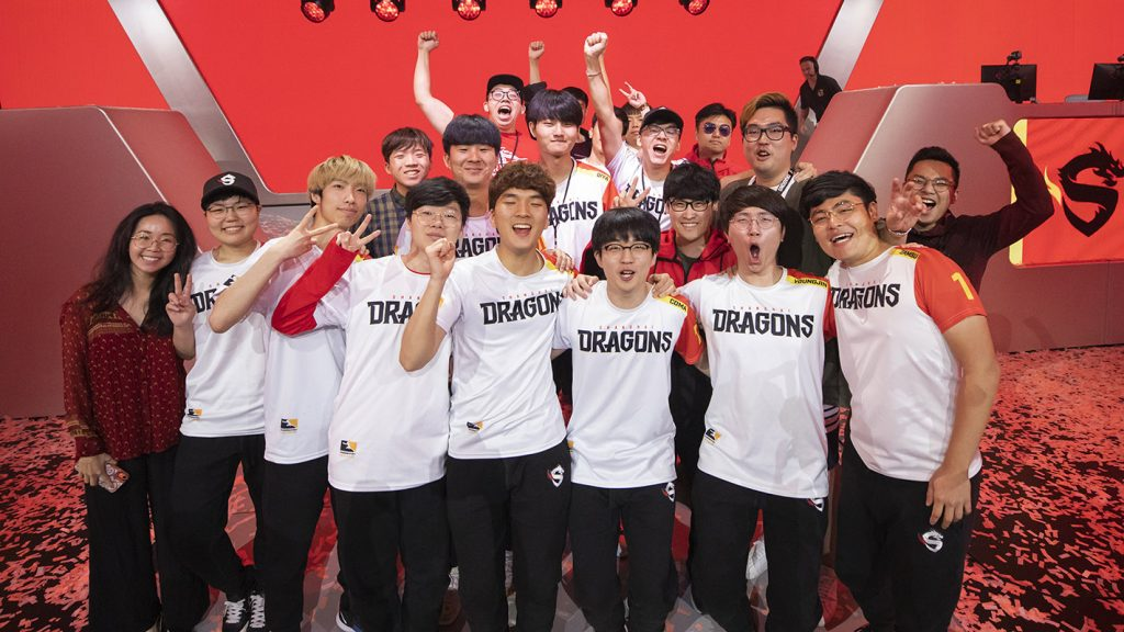 Shanghai Dragons at Overwatch League 2019 Stage 3 Playoffs / Photo: Robert Paul for Blizzard Entertainment