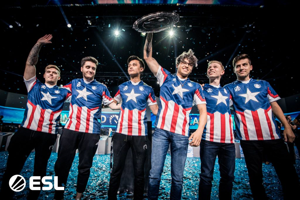 Team Liquid takes home gold at IEM Chicago. (Image courtesy of Intel ExtremeMasters)