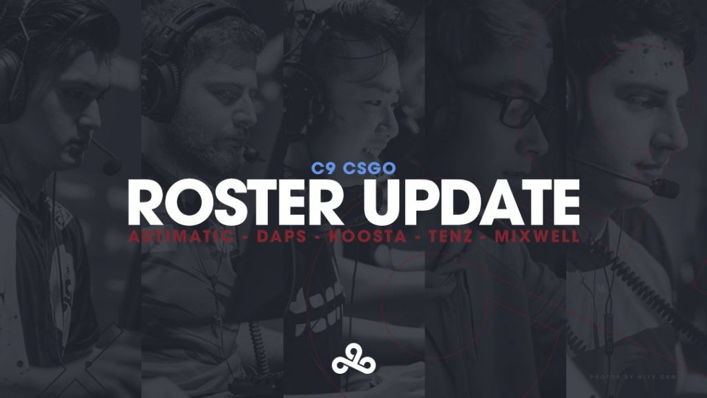 Cloud9's turbulent CS:GO roster undergoes another change. Cloud9 has built the new squad around the lone player sticking around Timothy