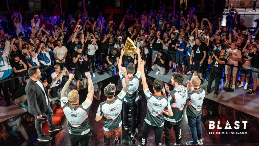 Team Liquid have now won five consecutive events in their path to forging a new dynasty (Photo courtesy of Blast Pro Series)
