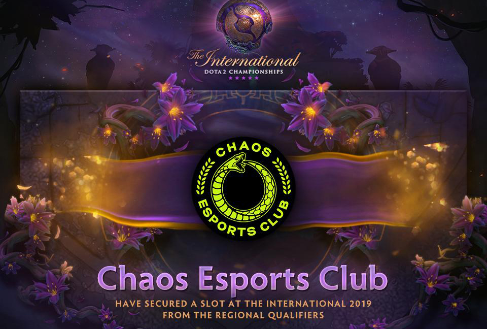 Chaos Esports Club faced little opposition in the TI9 European Qualifier finals, crushing an overwhelmed The Final Tribe.