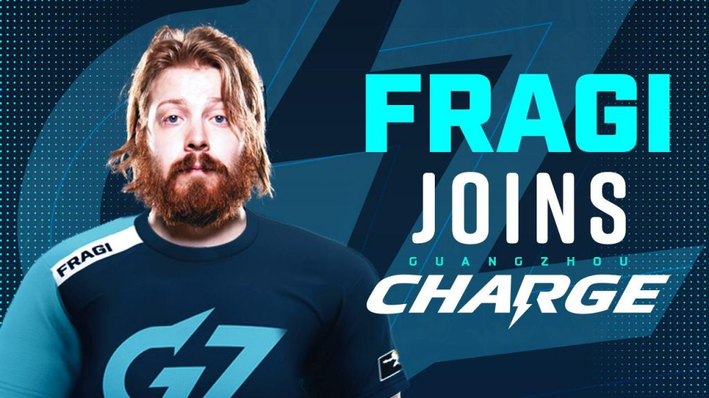 Fragi and Bischu join the Guangzhou Charge for Stage 4 of the current season of Overwatch League. (Image via Guangzhou Charge)