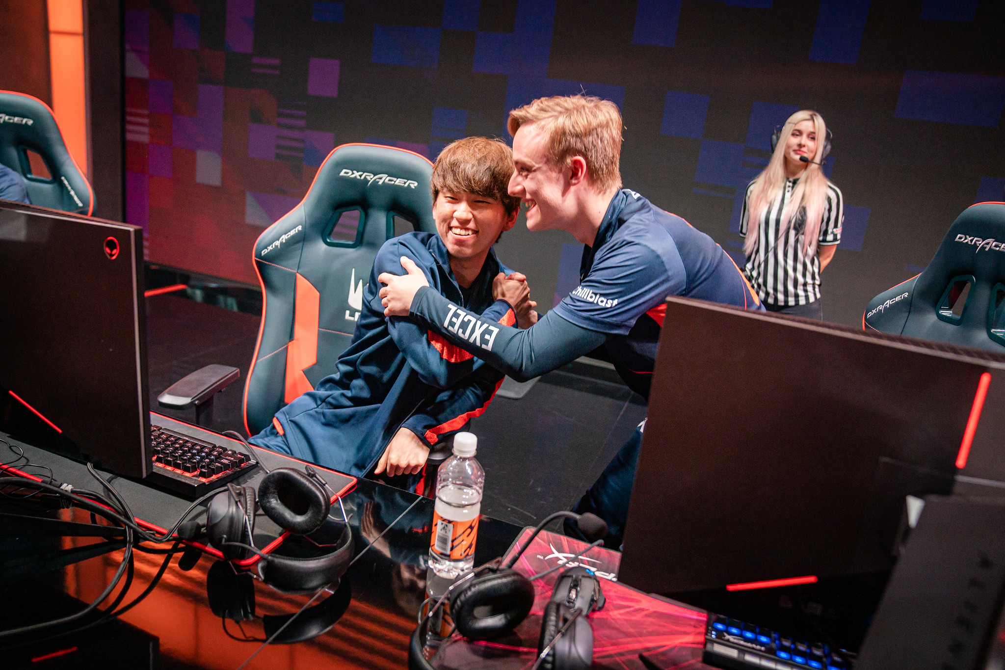 Excel Esports are off the mark in Summer, moving to a 1-7 record with their win over SK Gaming (Photo courtesy of Riot Games)