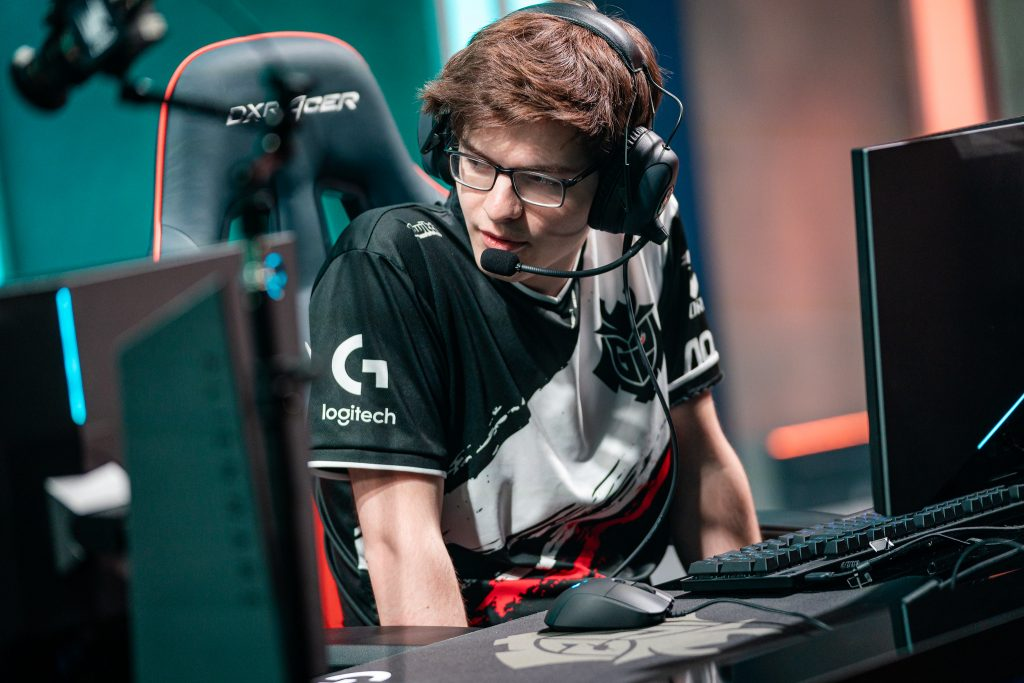 """I think with G2 I have learned a lot more than the past teams I have played on. "" (Photo courtesy of Riot Games)"