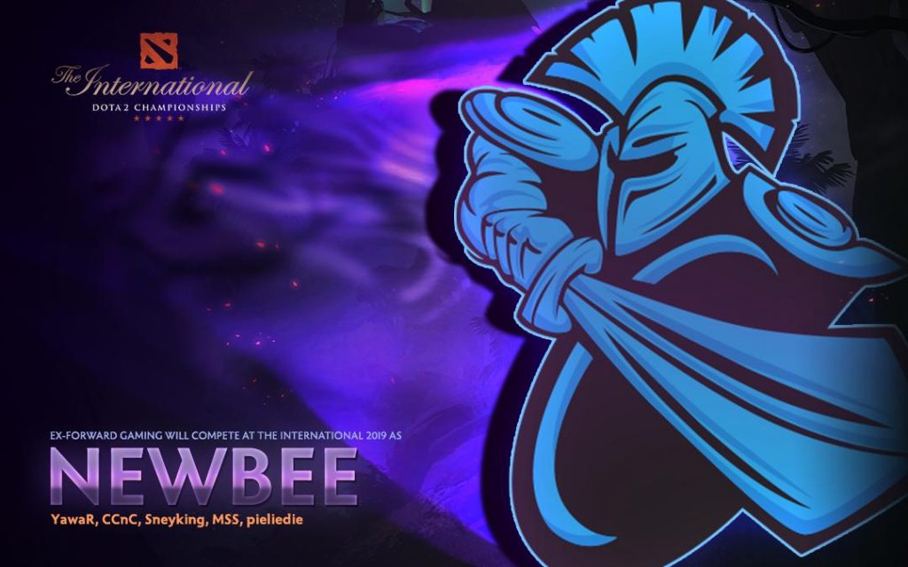 Chinese organization Newbee came to the rescue of ex-Forward Gaming. (Image via @wykrhm / Twitter)