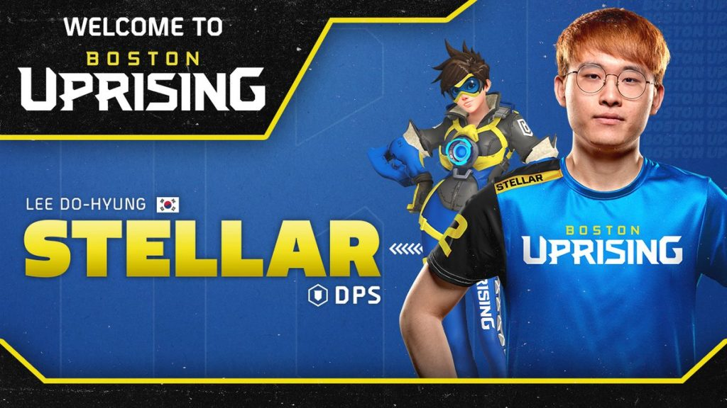Stellar had previously announced his retirement in April, citing personal reasons (Image courtesy of Boston Uprising)