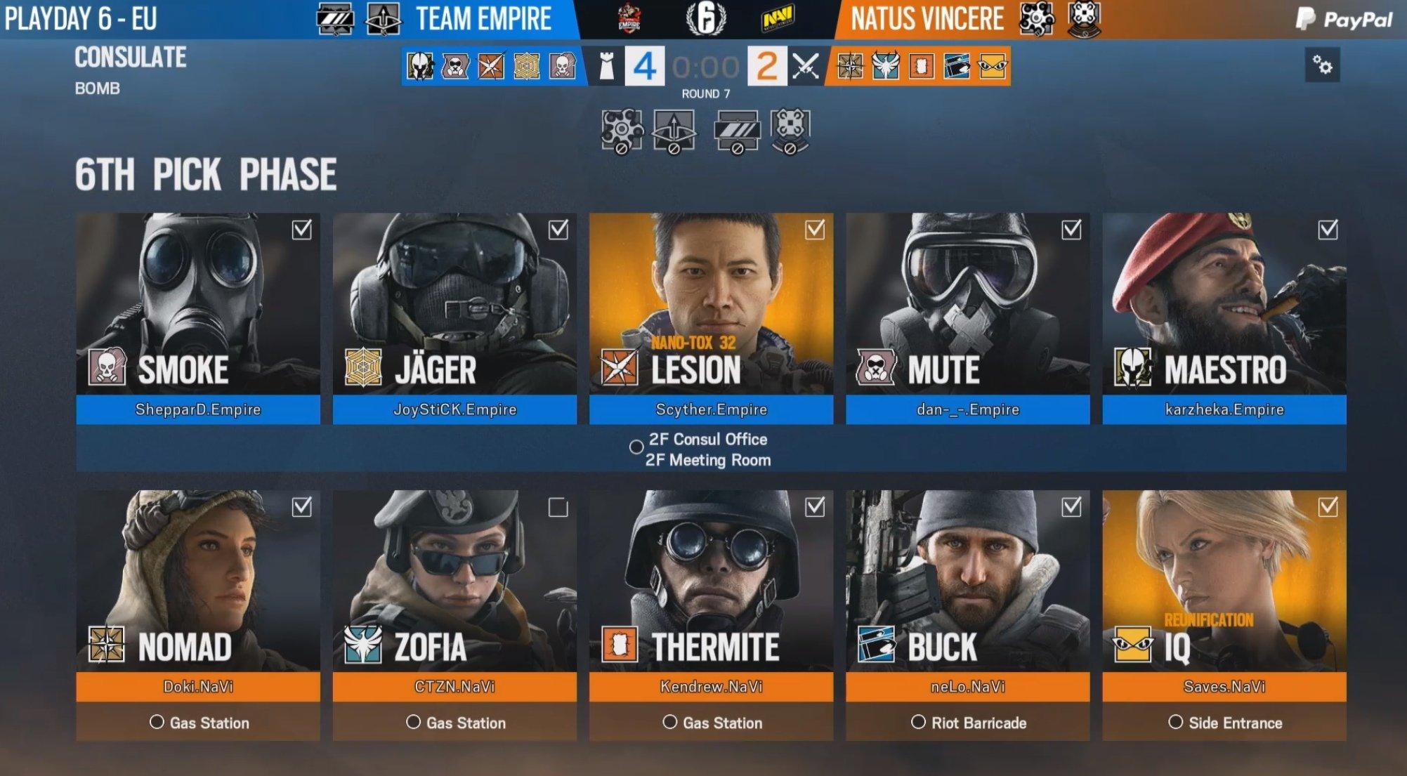 Rainbow Six Eu Pro League Team Empire Rules The Pack Hotspawn Com