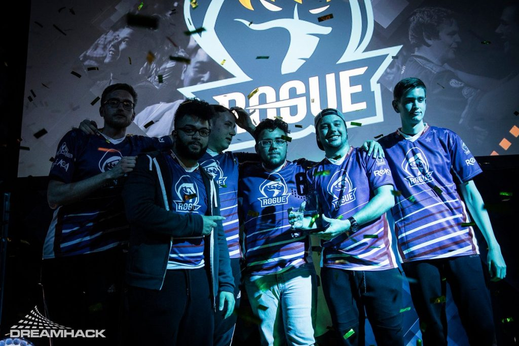 DreamHack Valencia ended with Rogue defying all expectations and leaving as the unlikely champion (Photo courtesy of Dreamhack)